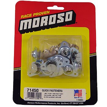 "Kit de Travas Dzus .450"" - Kit com 10 travas - MOROSO  - PRO-1 Serious Performance"