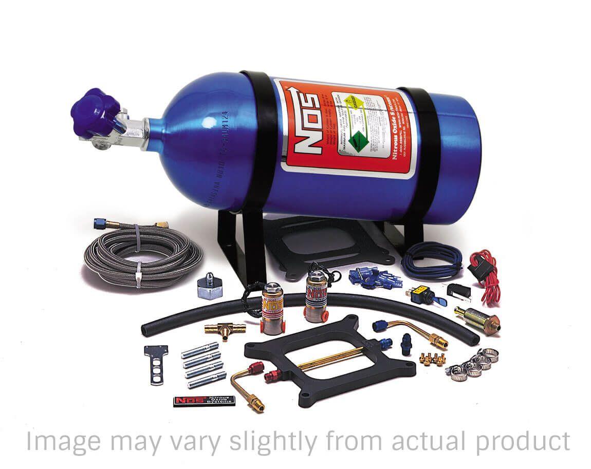 Kit Nitro com Placa para Quadrijet Holley - 125hp - Powershot - NOS  - PRO-1 Serious Performance