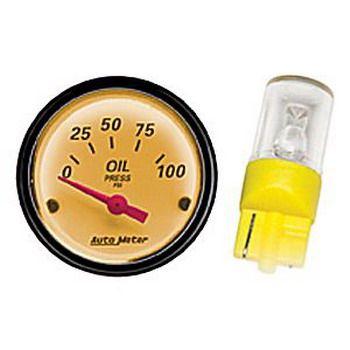 Lâmpada LED para instrumentos AutoMeter 52mm / 66mm - Ambar - AUTO METER  - PRO-1 Serious Performance