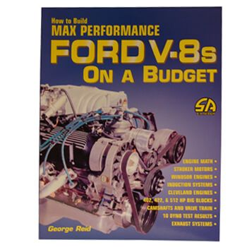 Livro Build Max Performance Ford V-8s On Budget - CAR TECH  - PRO-1 Serious Performance