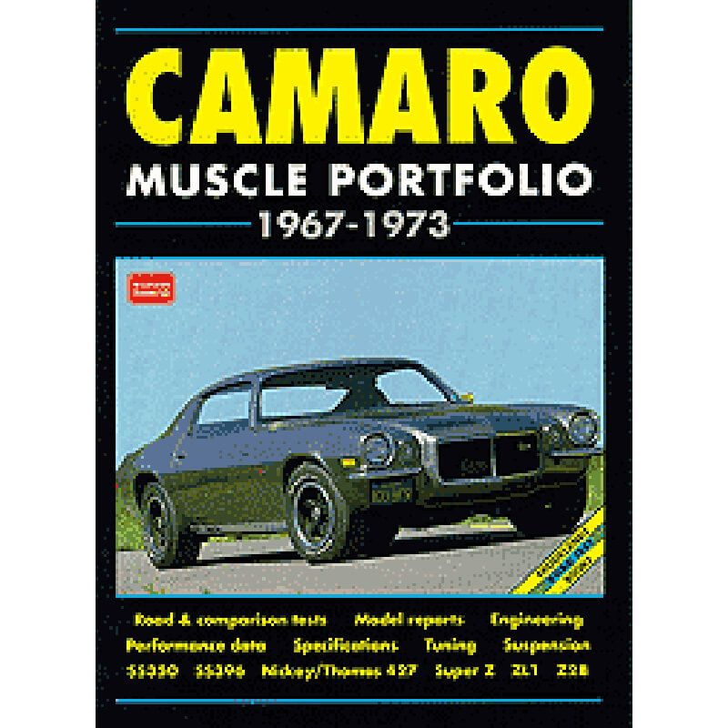 Livro Camaro Portfólio 67-73 - CAR TECH  - PRO-1 Serious Performance