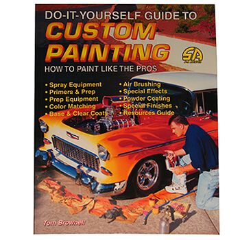 Livro Custom Painting - CAR TECH  - PRO-1 Serious Performance