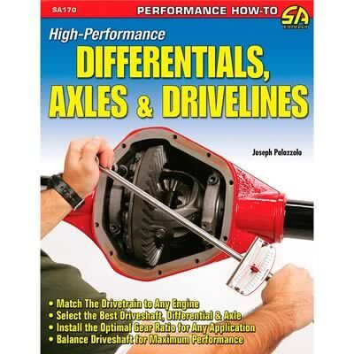 Livro High Performance Differentials, Axles & Drivelines - CAR TECH  - PRO-1 Serious Performance