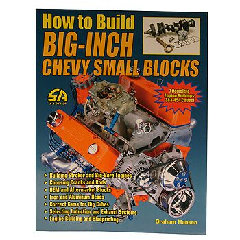 Livro How to Build Big-Inch Chevy Small Blocks - CAR TECH  - PRO-1 Serious Performance