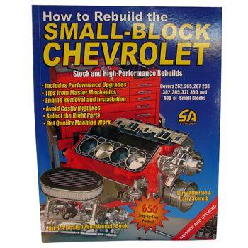Livro How To Rebuild The Smal Block Chevrolet - CAR TECH  - PRO-1 Serious Performance