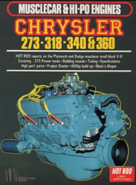Livro Muscle & HI-PO Small Block Chrysler - CAR TECH  - PRO-1 Serious Performance