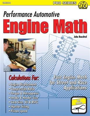 Livro Performance Automotive Engine Math - CAR TECH  - PRO-1 Serious Performance