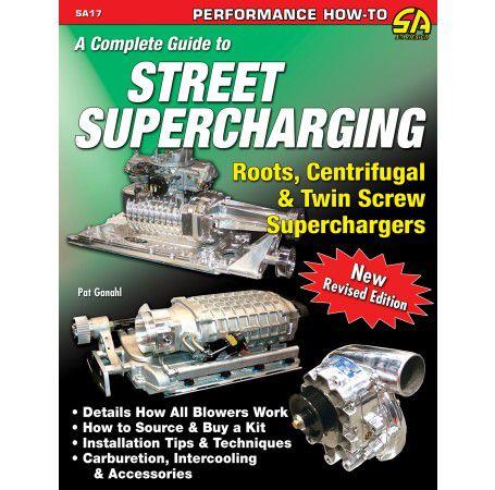 Livro Street Supercharging - CAR TECH  - PRO-1 Serious Performance