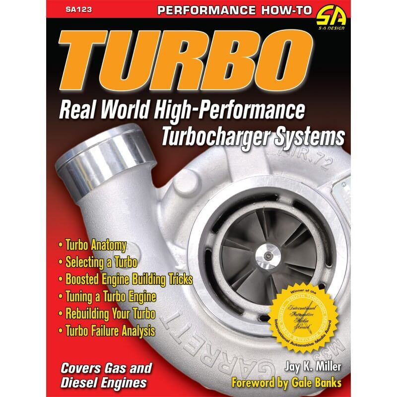 Livro Turbo Real World High Perf Turbo Systems - CAR TECH  - PRO-1 Serious Performance