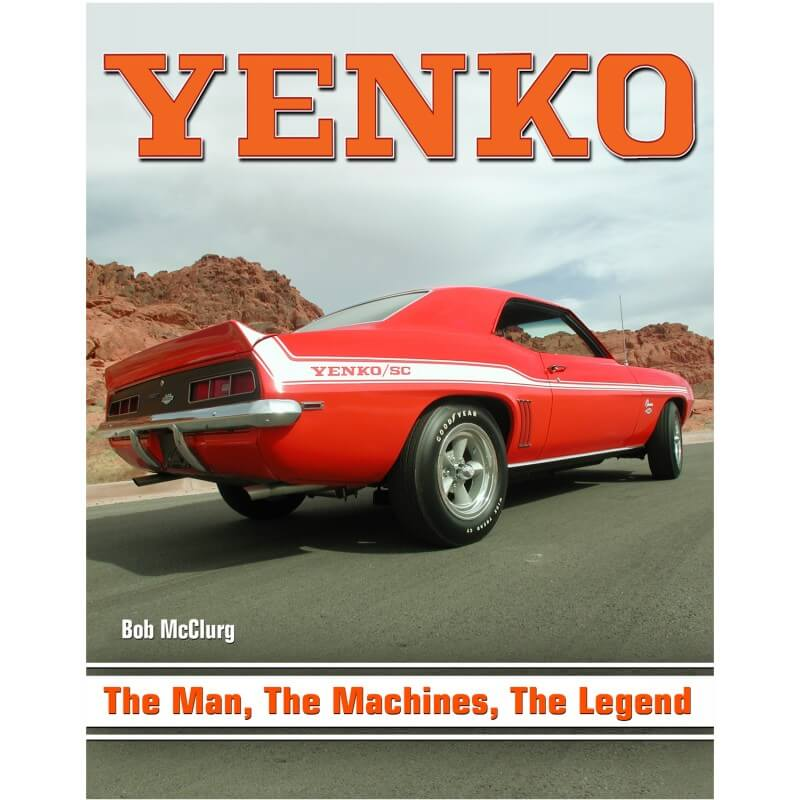 Livro Yenko, The Man, The Machines, The Legends - CAR TECH  - PRO-1 Serious Performance