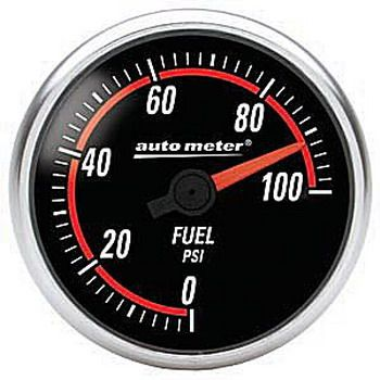 "Manômetro Pressão Combustível 0 - 100 PSI - Elétrico - 2"" 1/16"" - Nexus - AUTO METER  - PRO-1 Serious Performance"