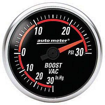 """Manômetro Pressão Turbo-Vácuo 0 - 30 PSI - Elétrico - 2"""" 1/16"""" - Nexus - AUTO METER  - PRO-1 Serious Performance"""