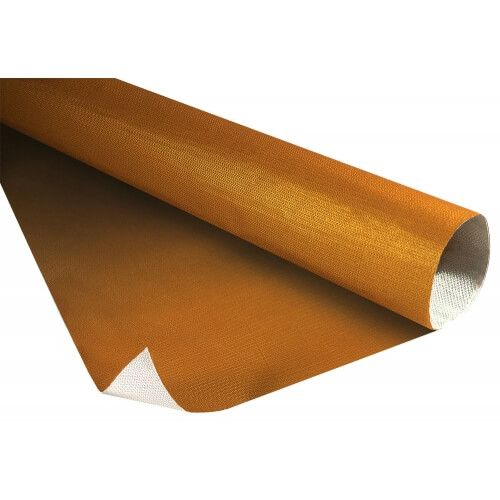 Manta Dourada Refletora de Caloria Auto Adesiva - 60cm X 60cm - THERMO TEC  - PRO-1 Serious Performance