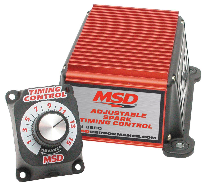 Módulo Ajuste Ponto de Ignição Manual - MSD  - PRO-1 Serious Performance