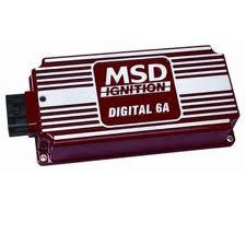 Módulo de Ignição sem Limitador de Giro - 6A Digital - MSD  - PRO-1 Serious Performance