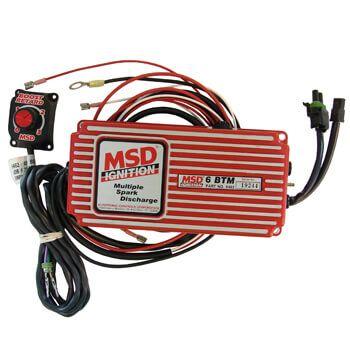 Módulo Ignição com Limitador Giro e Atrasador de Ponto por Pressão - MSD  - PRO-1 Serious Performance