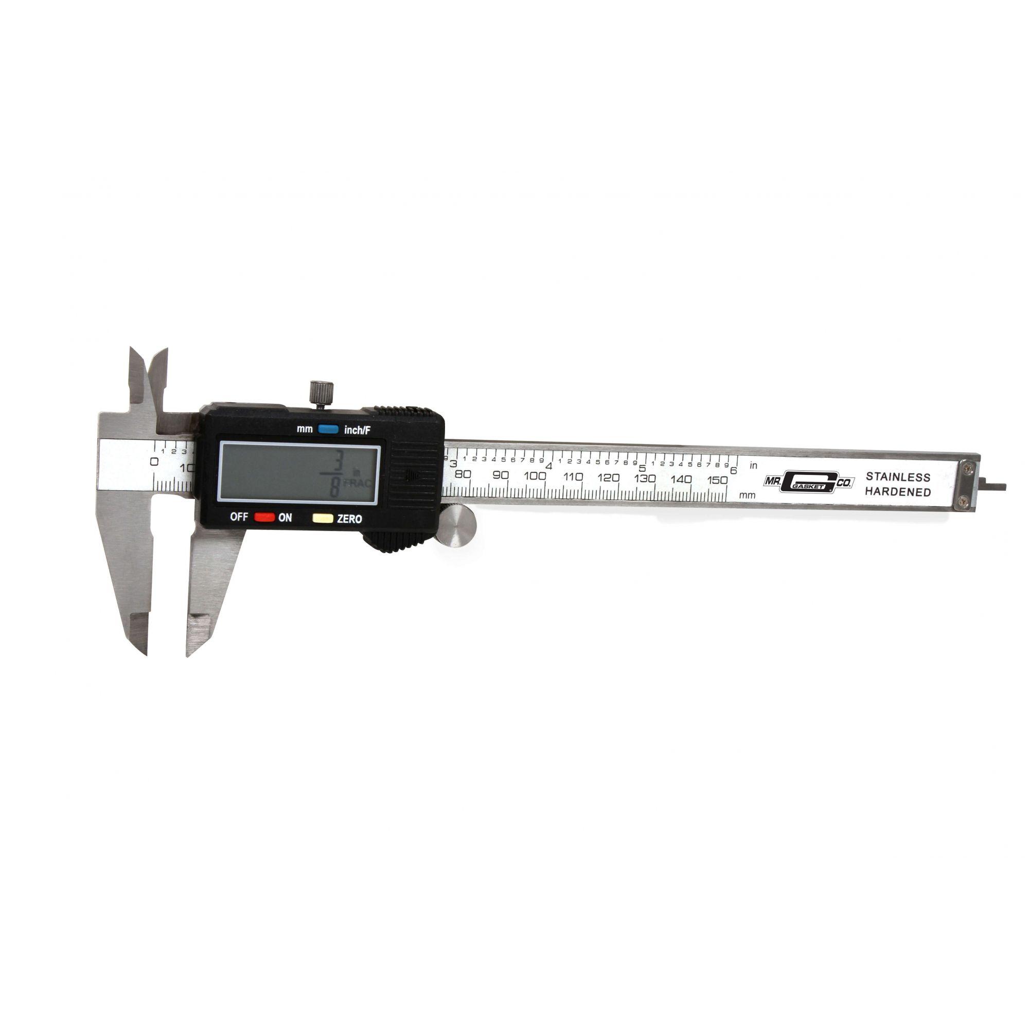 Paquímetro Digital 6 Polegadas - Mr. Gasket  - PRO-1 Serious Performance