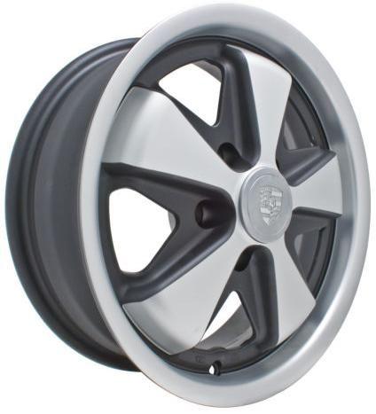 """Roda 911Preta - 15"""" x 5,5"""" - Furação 5 x 112 - VW/AR - UNIDADE - Empi  - PRO-1 Serious Performance"""