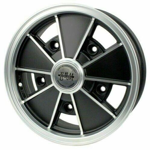 """Roda BRM Preta - 15"""" x 5"""" - Furação 5 x 205 - VW/AR - UNIDADE - Empi  - PRO-1 Serious Performance"""