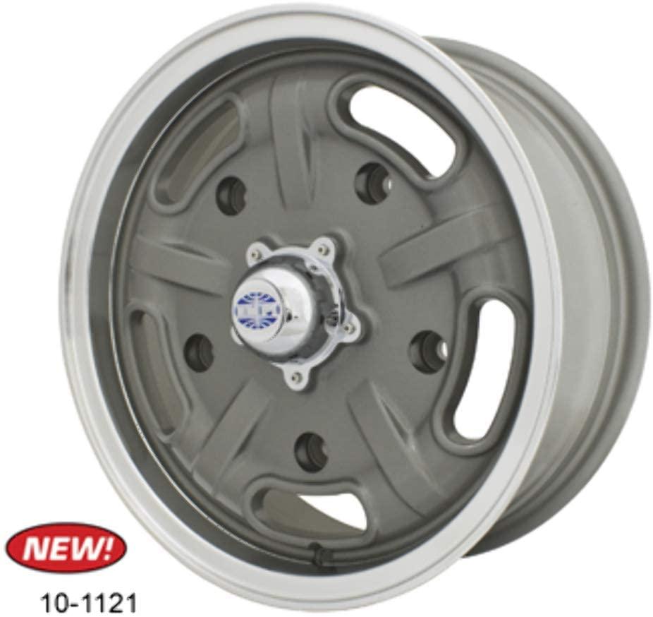 """Roda Corsa Cinza - 15"""" x 5,5"""" - Furação 5 x 205 - VW/AR - UNIDADE - Empi  - PRO-1 Serious Performance"""