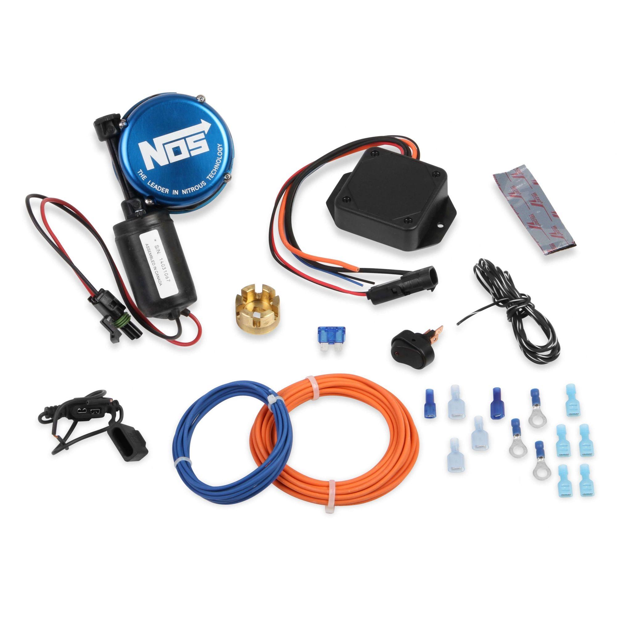 Sistema de Abertura/Fechamento de Cilindro de Nitro Remoto - NOS  - PRO-1 Serious Performance
