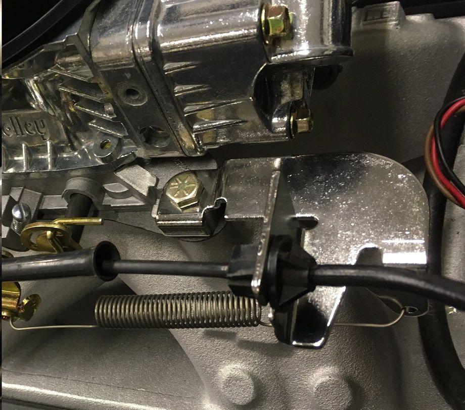 Suporte Cabo Acelerador para Carburador Holley com Mola de Retorno - HOLLEY  - PRO-1 Serious Performance