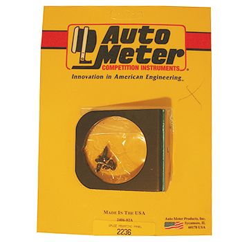 "Suporte Tipo Painel para 1 Instrumento - 2 1/16"" - AUTO METER  - PRO-1 Serious Performance"