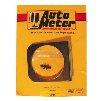"Suporte Tipo Painel para 1 Instrumento - 2"" 5/8 - AUTO METER  - PRO-1 Serious Performance"