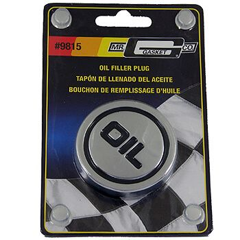 Tampa Plug Óleo - OIL - MR. GASKET  - PRO-1 Serious Performance
