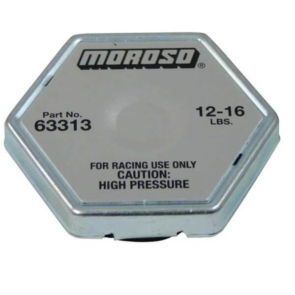 Tampa Radiador Sextavada 12-16 Lbs - MOROSO  - PRO-1 Serious Performance