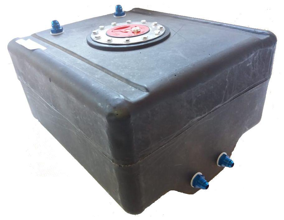 Tanque Combustível Polietileno - 12 Galões (45 Litros) - RJS  - PRO-1 Serious Performance