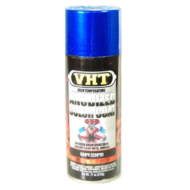 Tinta Spray Anodizado Azul 228°C - VHT  - PRO-1 Serious Performance