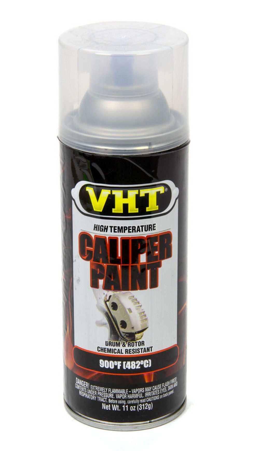 Tinta Spray Para Freio Verniz Brilhante 482°C - VHT  - PRO-1 Serious Performance