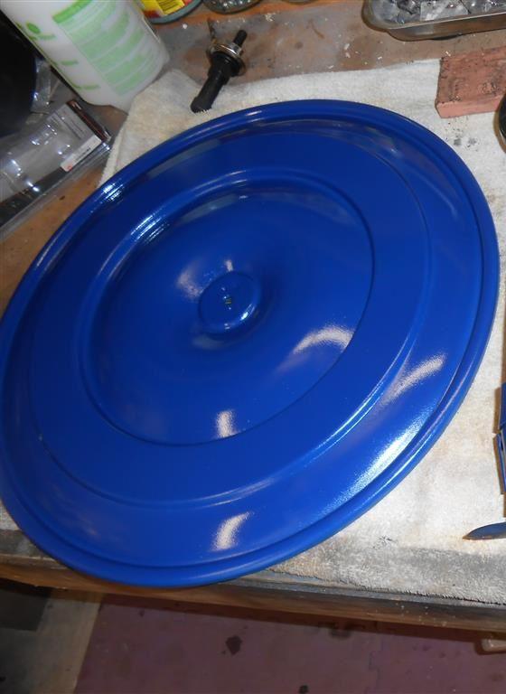 Tinta Spray Para Motor New Ford Azul 288°C - VHT  - PRO-1 Serious Performance
