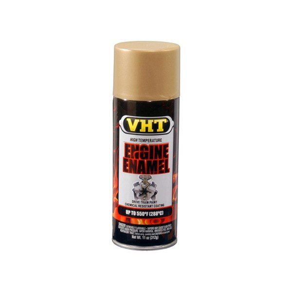 Tinta Spray Para Motor Ouro 288°C - VHT  - PRO-1 Serious Performance