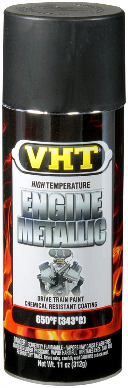 Tinta Spray Para Motor Preto Pérola Metálico 343°C - VHT  - PRO-1 Serious Performance