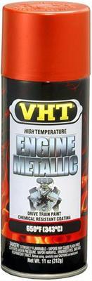 Tinta Spray Para Motor Vermelho Fogo Metálico 343°C - VHT  - PRO-1 Serious Performance