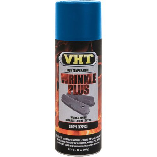 Tinta Spray Wrinkle Texturizada Azul 177°C - VHT  - PRO-1 Serious Performance