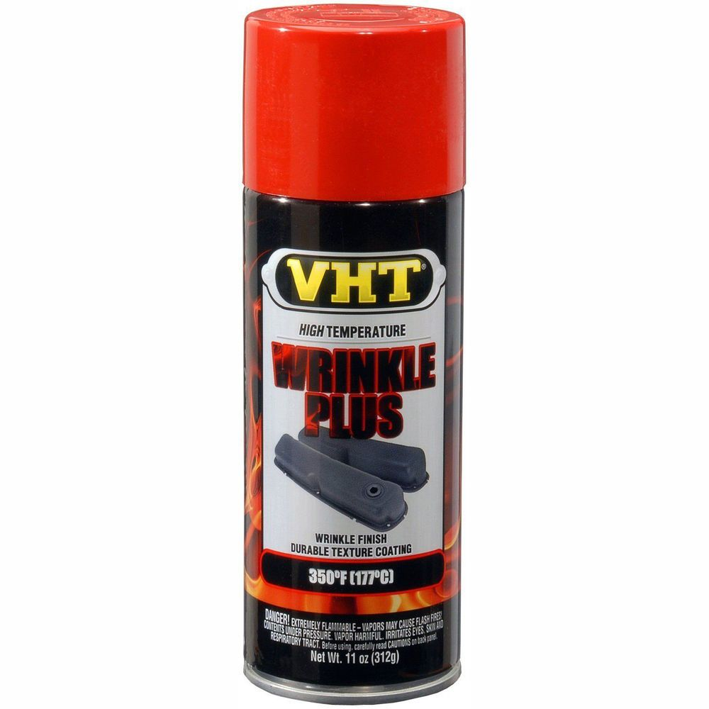 Tinta Spray Wrinkle Texturizada Vermelho 177°C - VHT  - PRO-1 Serious Performance