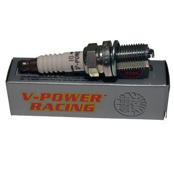 Vela Ignição - Grau Térmico 10º Sextavado Pequeno (5/8) Rosca 14mm - V-Power - NGK  - PRO-1 Serious Performance