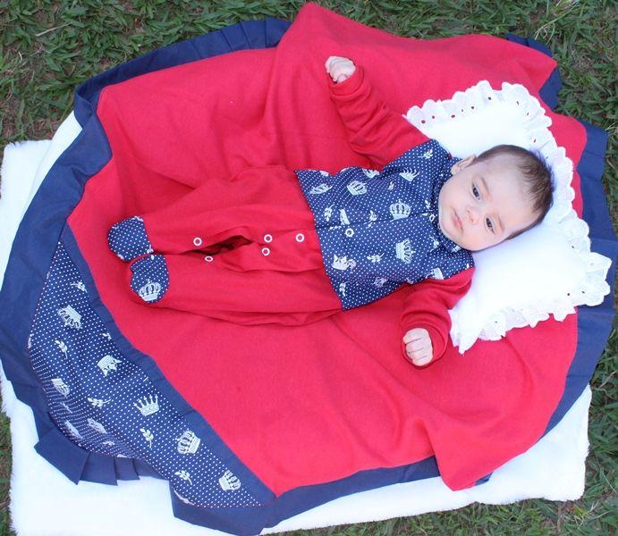 Saída de Maternidade Coleção Toque Básico 4 Peças - Imperial Baby 6ec93d24f36