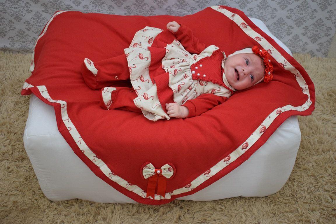 3819d9235 Saída Maternidade Menina Anny 5 Peças - Imperial Baby