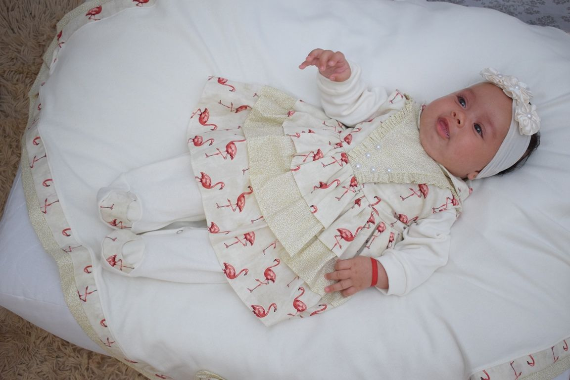 3389d3d63 ... Saída Maternidade Menina Anny 5 Peças · Saída Maternidade Menina Anny 5  Peças