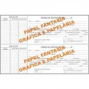 Livro de Registro de Transferência de Bônus de Subscrição Nominativas 100 folhas (Papelfantasia)