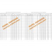 Livro Registro de Inventário de Bens Modelo 7 - 100 Folhas (Papelfantasia)