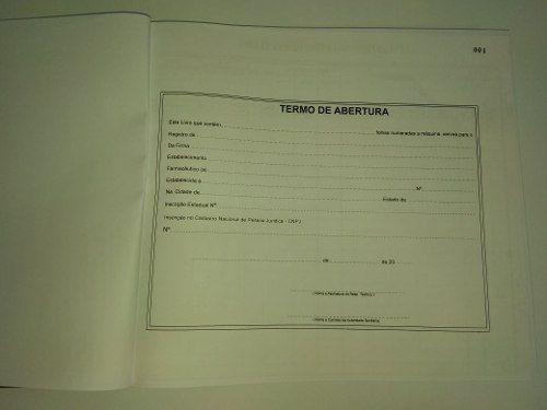 Livro De Registro Específico- Psicotrópicos 200 Folhas (Papelfantasia)