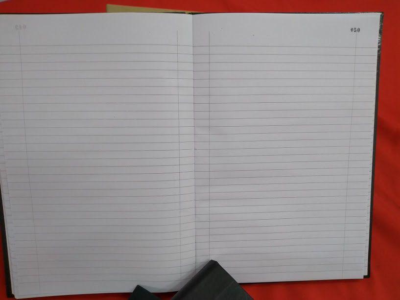 Livro de Registro de Ata das Reuniões da Diretoria 50 folhas (Papelfantasia)