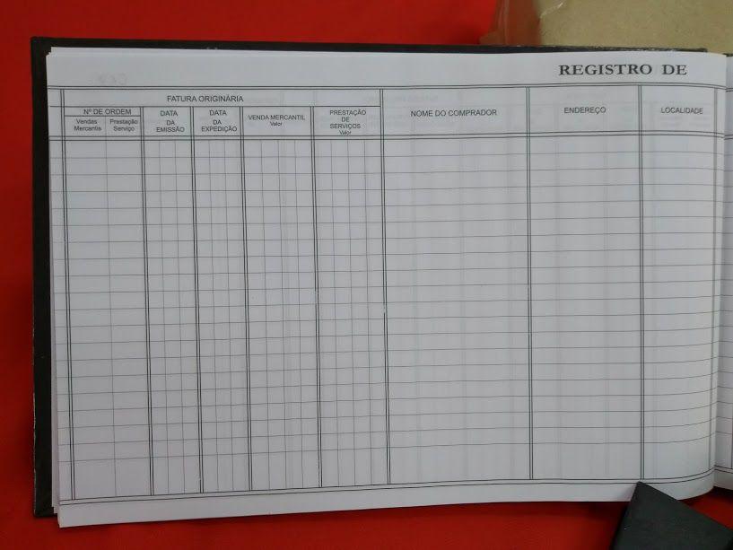 Livro de Registro de Duplicatas 50 Folhas (Papelfantasia)