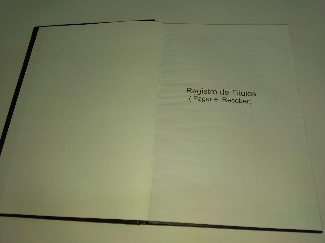 Livro Título pagar e receber 100 folhas