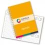 Agenda 2022   14,5x20,5cm   Capa Dura   336 Páginas   Impressão Capa e Folha de Rosto Colorida + Miolo Tons de Cinza   Encadernado com Wire-o